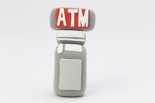 ATMクレイアート
