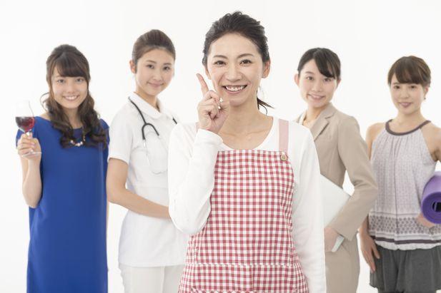主婦と働く女性たち