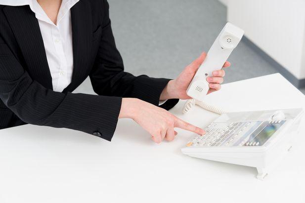 職場への電話