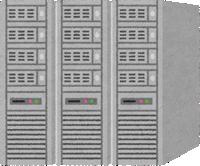 コンピュータのサーバー