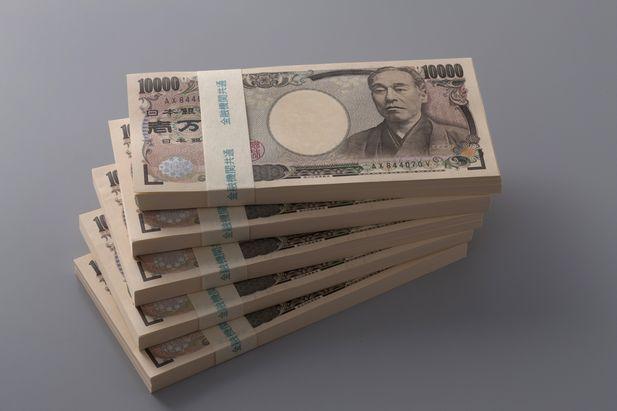 500万円の札束