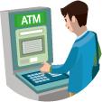 ソニー銀行の提携ATMからお引きだし